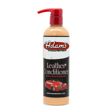 Adam's - Leather Conditioner - 473 ml