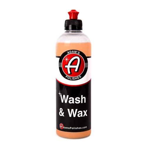 Adam's - Wash & Wax - 473 ml