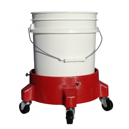 Grit guard - Bucket Dolly - Rood