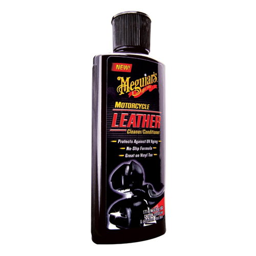 Meguiar's - Motorcycle Leather cleaner/conditioner - 177 ml